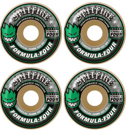 Spitfire Wheels Spitfire F4 101d Conical Green Print 56mm