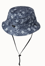 RVCA Spaced Floral Bucket Hat Blue