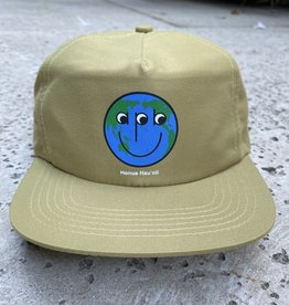 APB Skateshop Happy World Snapback Light Brown