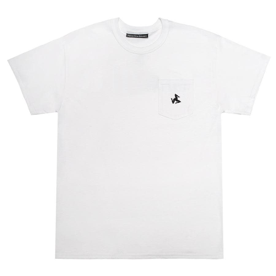 CallMe917 Legs Pocket Tee White