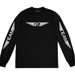 CallMe917 Team Wings L/S Black