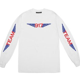 CallMe917 Team Wings L/S White L