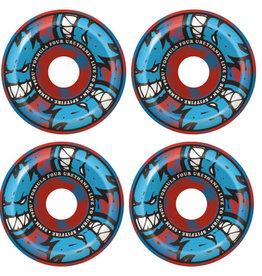 Spitfire Wheels Spitfire F4 99d Afterburn Blue/Red 53mm