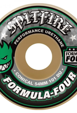 Spitfire Wheels Spitfire F4 101d Conical Green Print 52mm