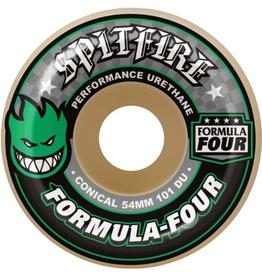 Spitfire Wheels Spitfire F4 101d Conical Green Print 52mm