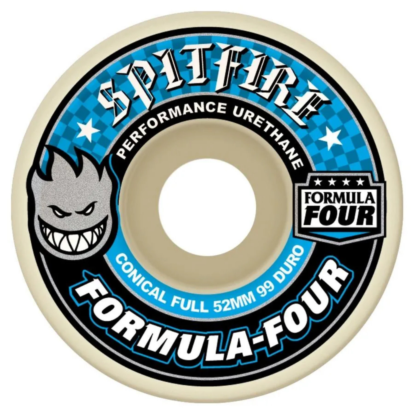 Spitfire Wheels Spitfire F4 99d Conical Full 52mm