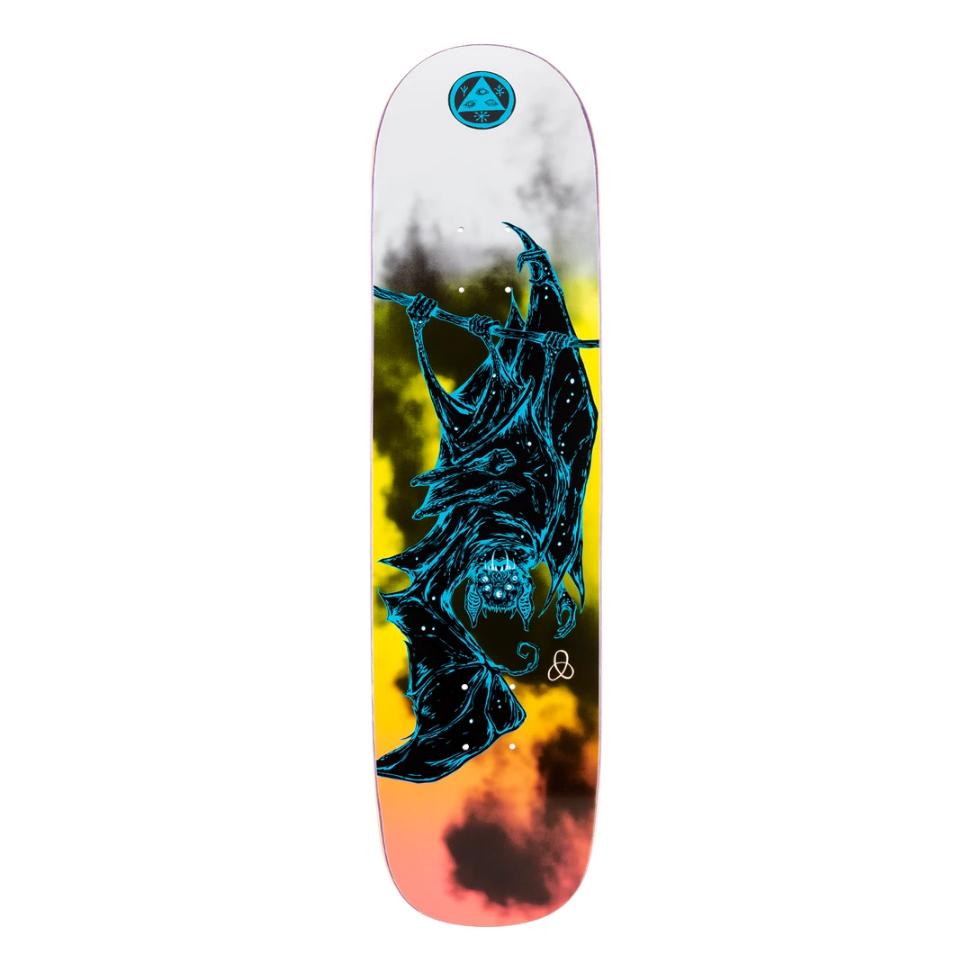 "Welcome Skateboards Infinitely Batty on Bunyip 8.0"" Surf Fade/Black"