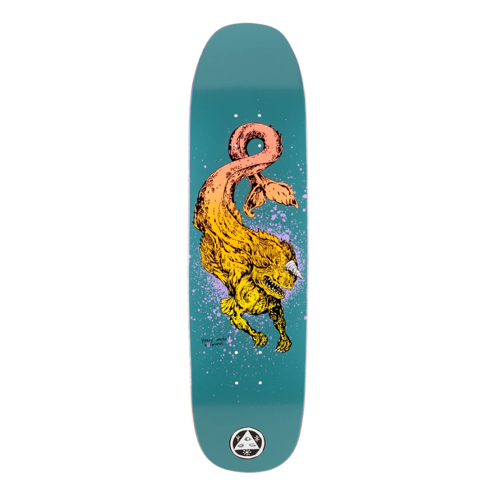"Welcome Skateboards Cetus on Son Of Moontrimer 8.25"" Dark Teal"