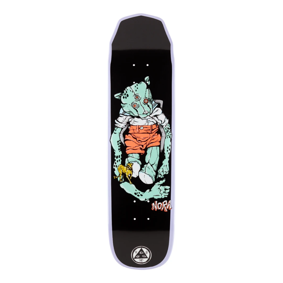 "Welcome Skateboards Teddy on Wicked Princess 8.125"" Lavender Dip"