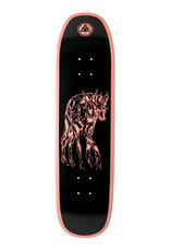 """Welcome Skateboards Maned Woof on Son of Moontrimmer 8.25"""" Coral Dip"""