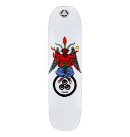 """Welcome Skateboards Bapholit on Stonecipher 8.6"""" White"""