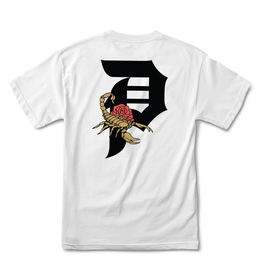 Primitive Dirty P Scorpion Youth White Tee