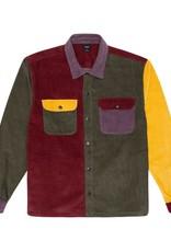 HUF Cord Block L/S Overshirt Olive