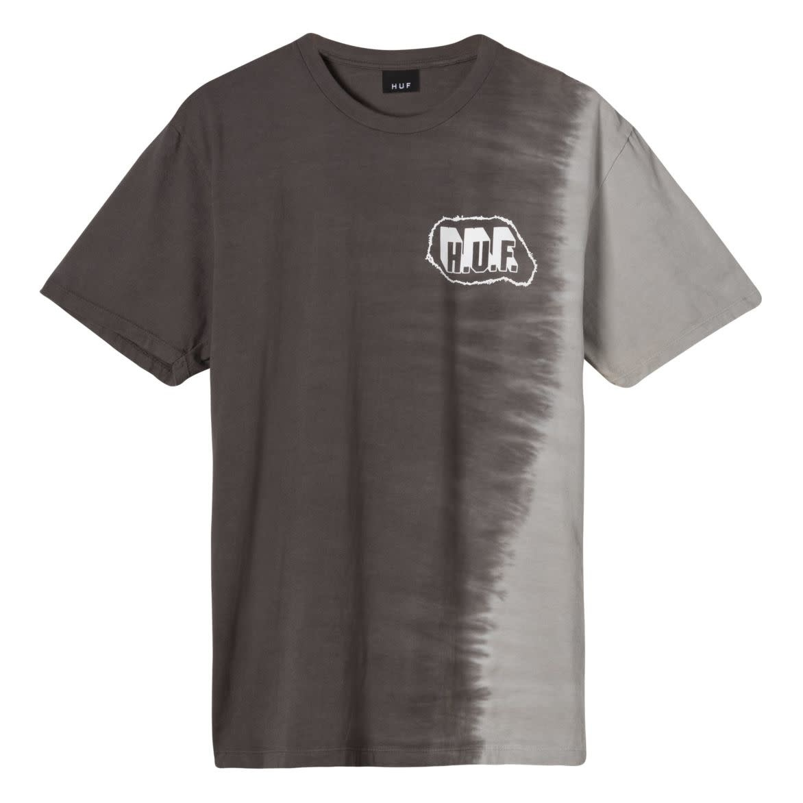 HUF AMP Wash Tee Black