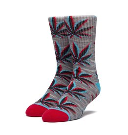 HUF Static Plantlife Sock Grey Heather