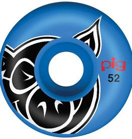 Pig Wheels Pig Head Blue Proline 52mm