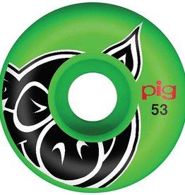Pig Wheels Pig Head Green Proline 53mm