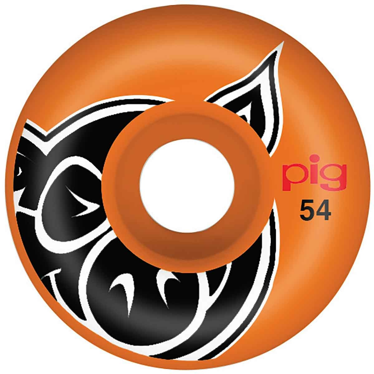 Pig Wheels Pig Head Orange Proline 54mm