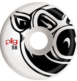 Pig Wheels Pig Head C-Line 58mm