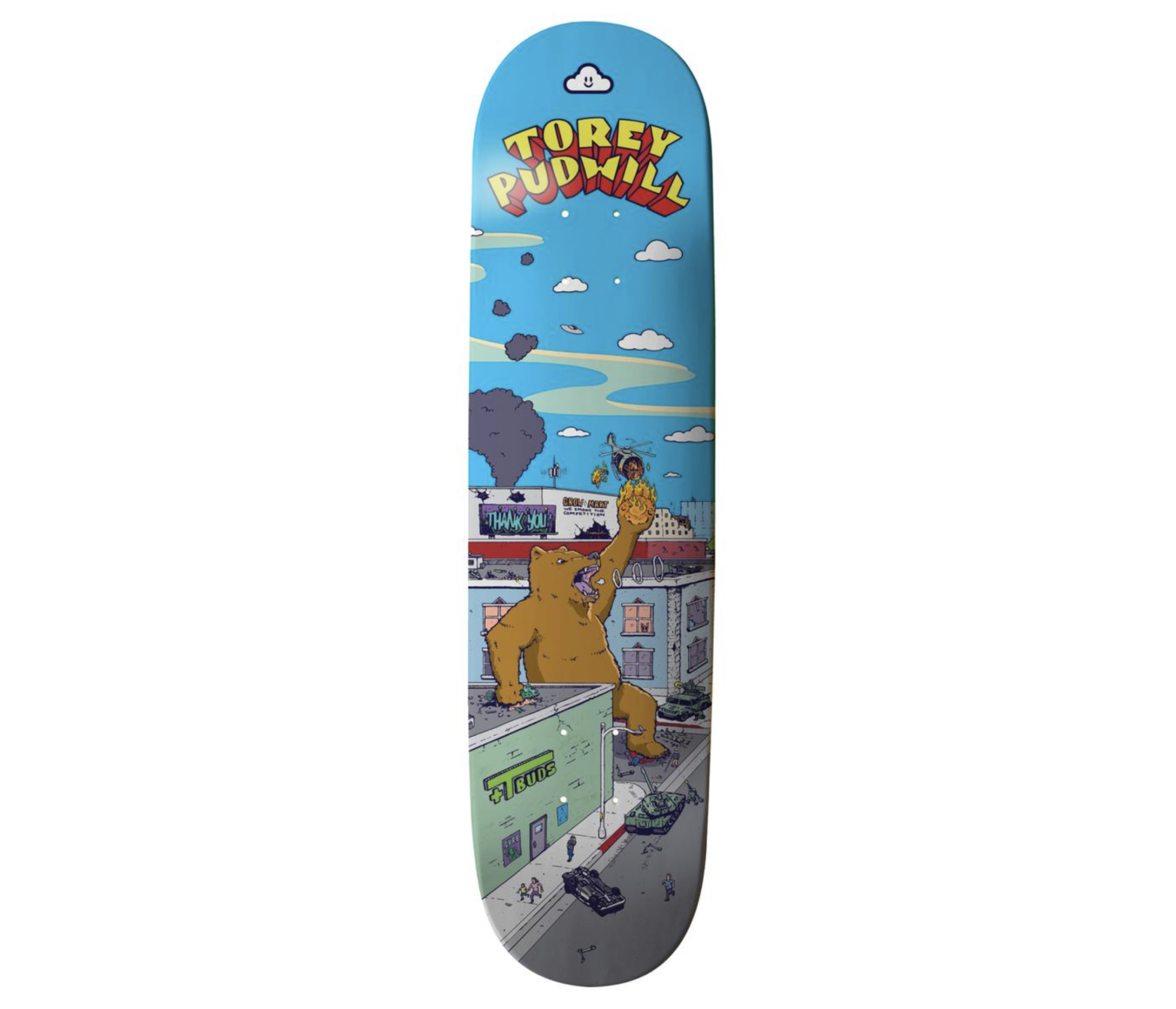 """Thank You Torey Pudwill Rampage 7.75"""""""