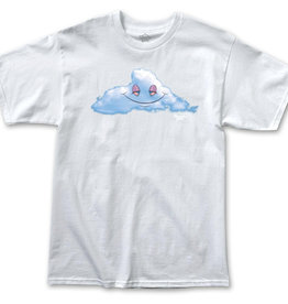 Thank You Head in the Clouds White Tee