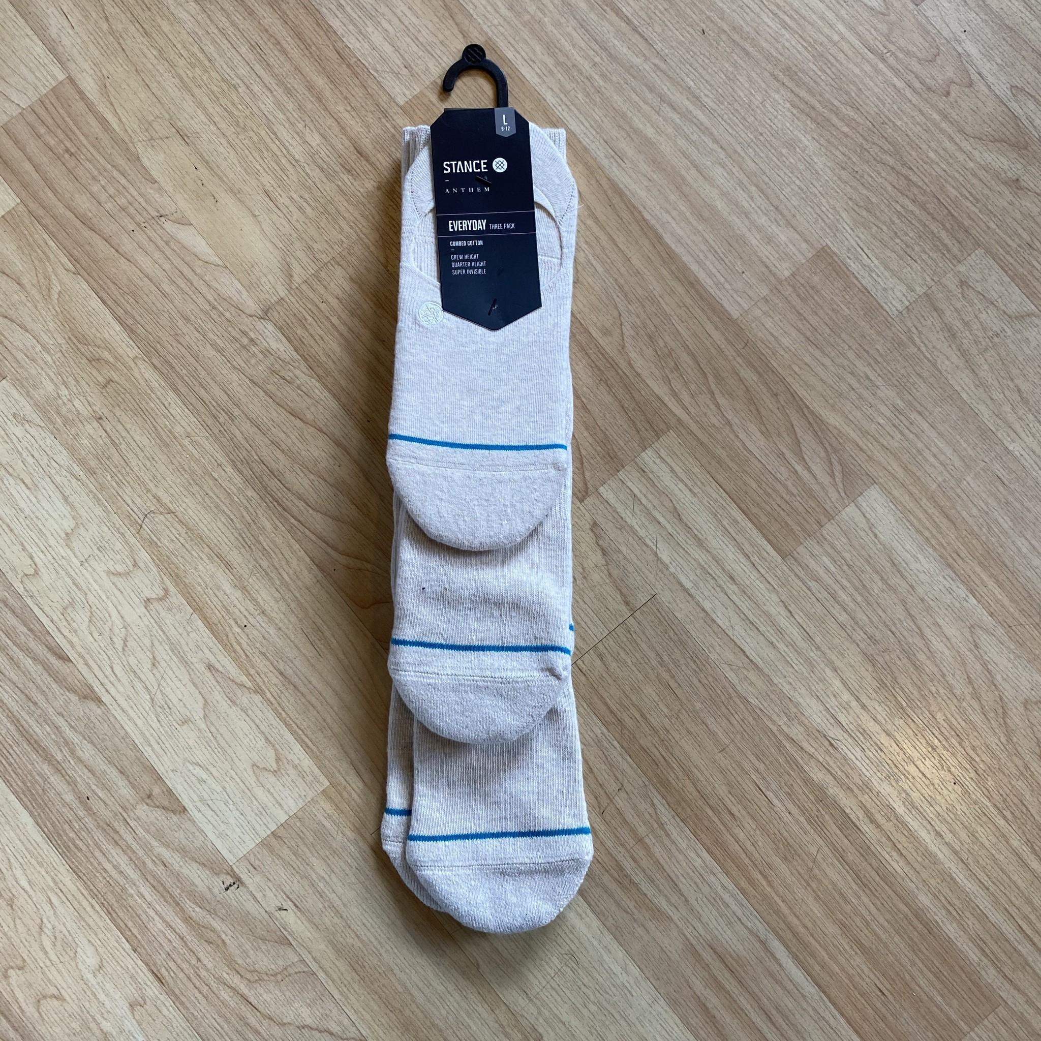 Stance Socks Gamut 3 Pack Natural Large