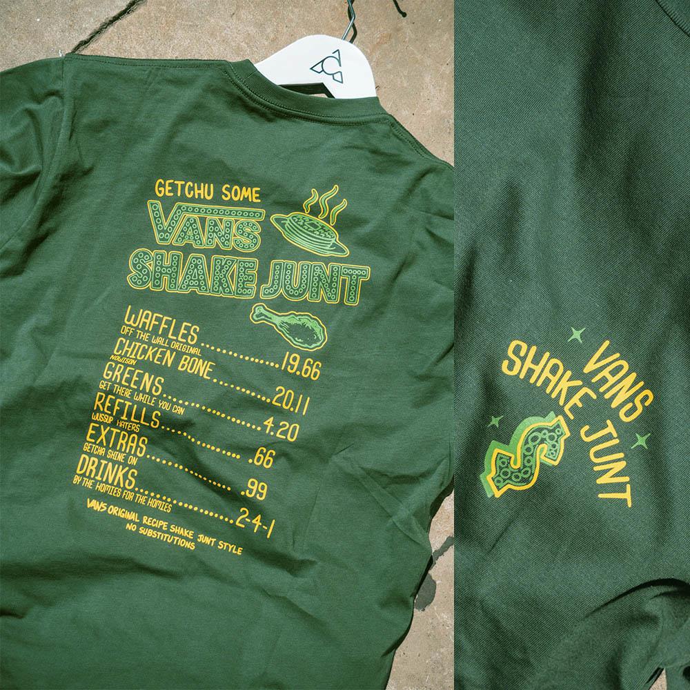 Vans Shoes Vans x Shake Junt Menu Pine Green