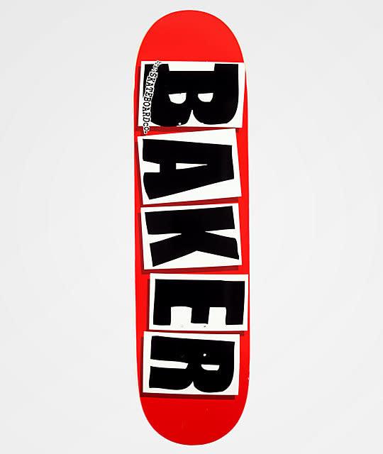 """Baker Skateboards Brand Logo Black 8.475"""""""