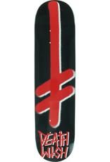 "Deathwish Skateboards Gang Logo Black/Red 8.0"""