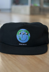 APB Skateshop Happy World Snapback Black