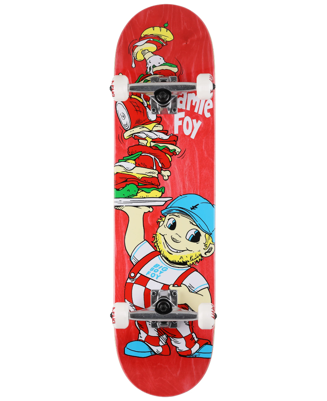 "Deathwish Skateboards JF Big Boy Foy Complete 8.0"""