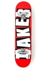 """Baker Skateboards Brand Logo White Complete 8.0"""""""