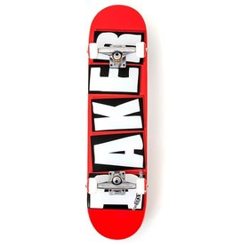 """Baker Skateboards Brand Logo White Complete 7.75"""""""