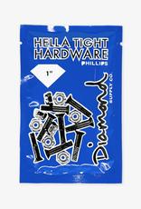 "Diamond Supply Company, Inc Diamond Hella Tight Hardware Silver 1"" Phillips"