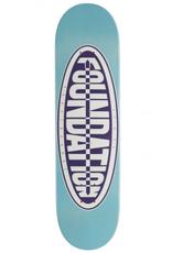 """Foundation Skateboards Oval Blue 8.0"""""""