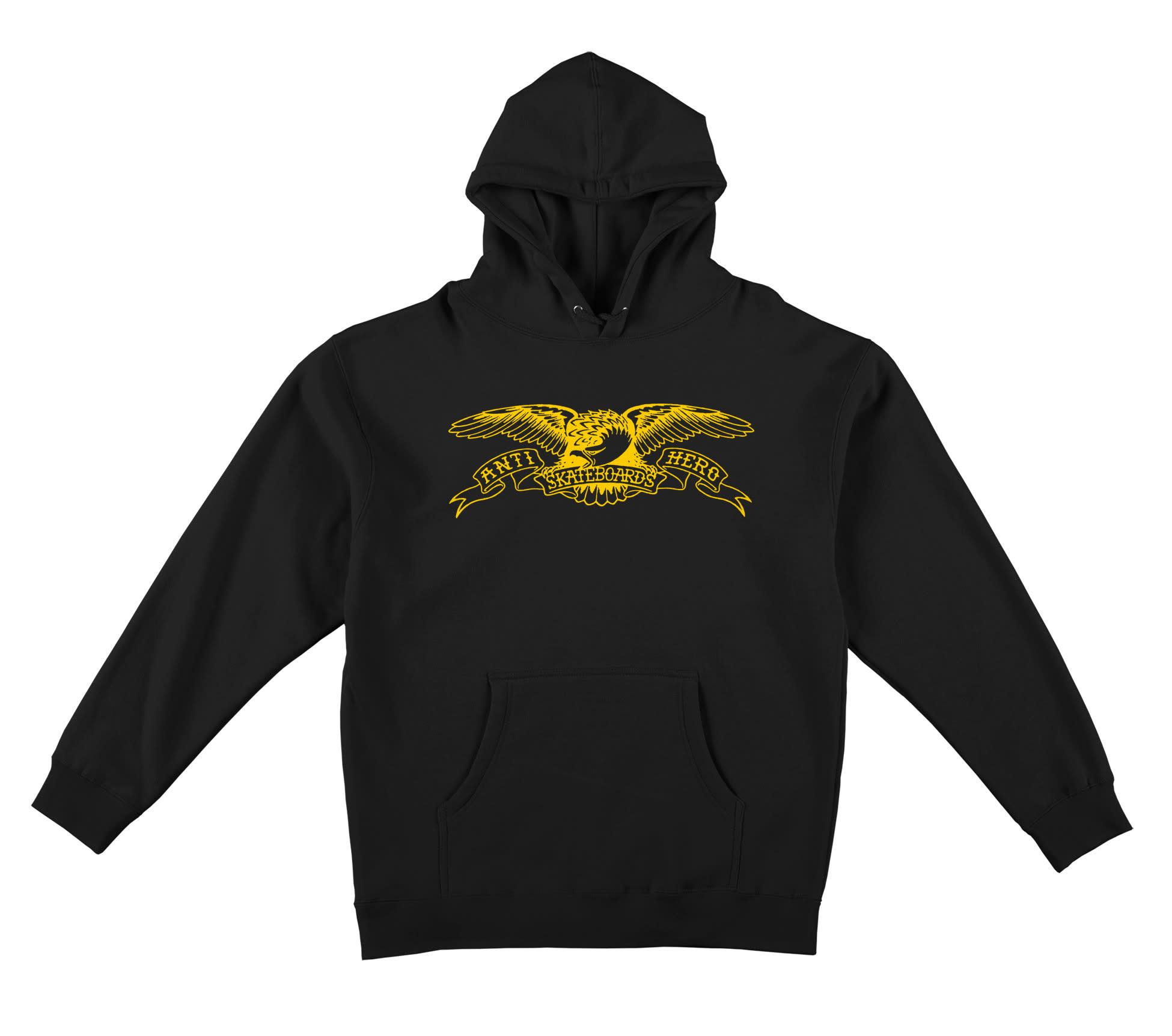 Anti Hero Eagle Hoody Black/Yellow