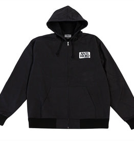 Anti Hero Reserve Canvas Zip Hood Black