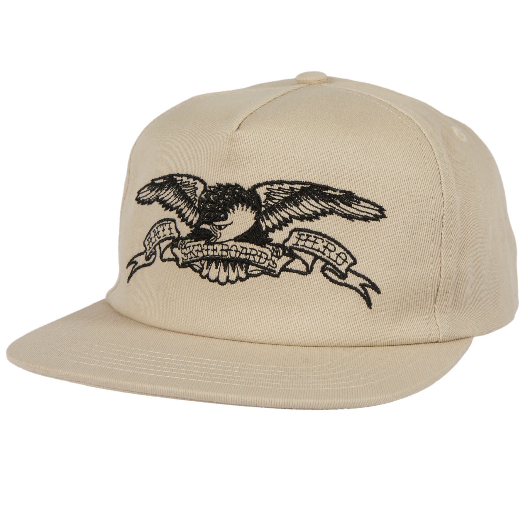 Anti Hero Basic Eagle Emb. Snapback Khaki/Black