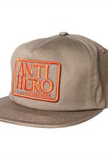 Anti Hero Reserve Patch Snapback Brn/Red