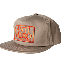 Anti Hero Reserve Patch Snapback Brn/Red