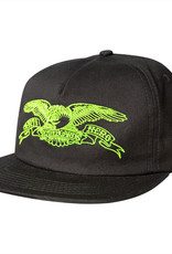 Anti Hero Basic Eagle Emb. Snapback Black/Green