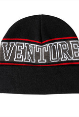 Venture Trucks Horizon Cuff Beanie Black/Red