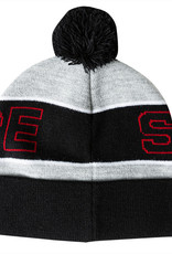 Spitfire Wheels Classic 87 Pom Beanie Grey/Blk/Red