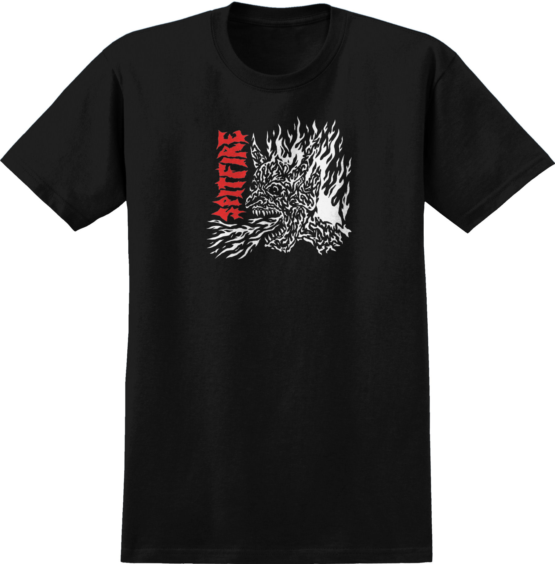 Spitfire Wheels Spitfire x Lotties Fiend Tee Black/Red