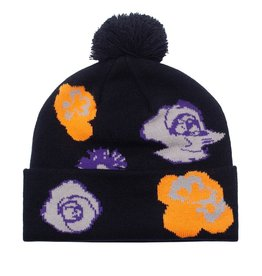 Fucking Awesome Botanical Ball Beanie Black