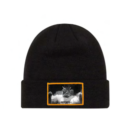 Fucking Awesome FA/Hockey Cuff Beanie Black