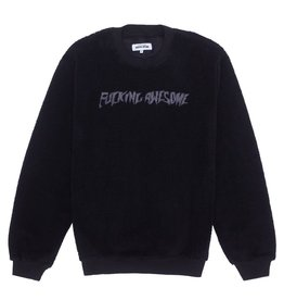 Fucking Awesome Pile Polar Fleece Crew Black