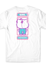 Girl Sanrio Backside White Tee