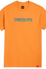 Chocolate Skateboards Chocolate Bar Orange Tee