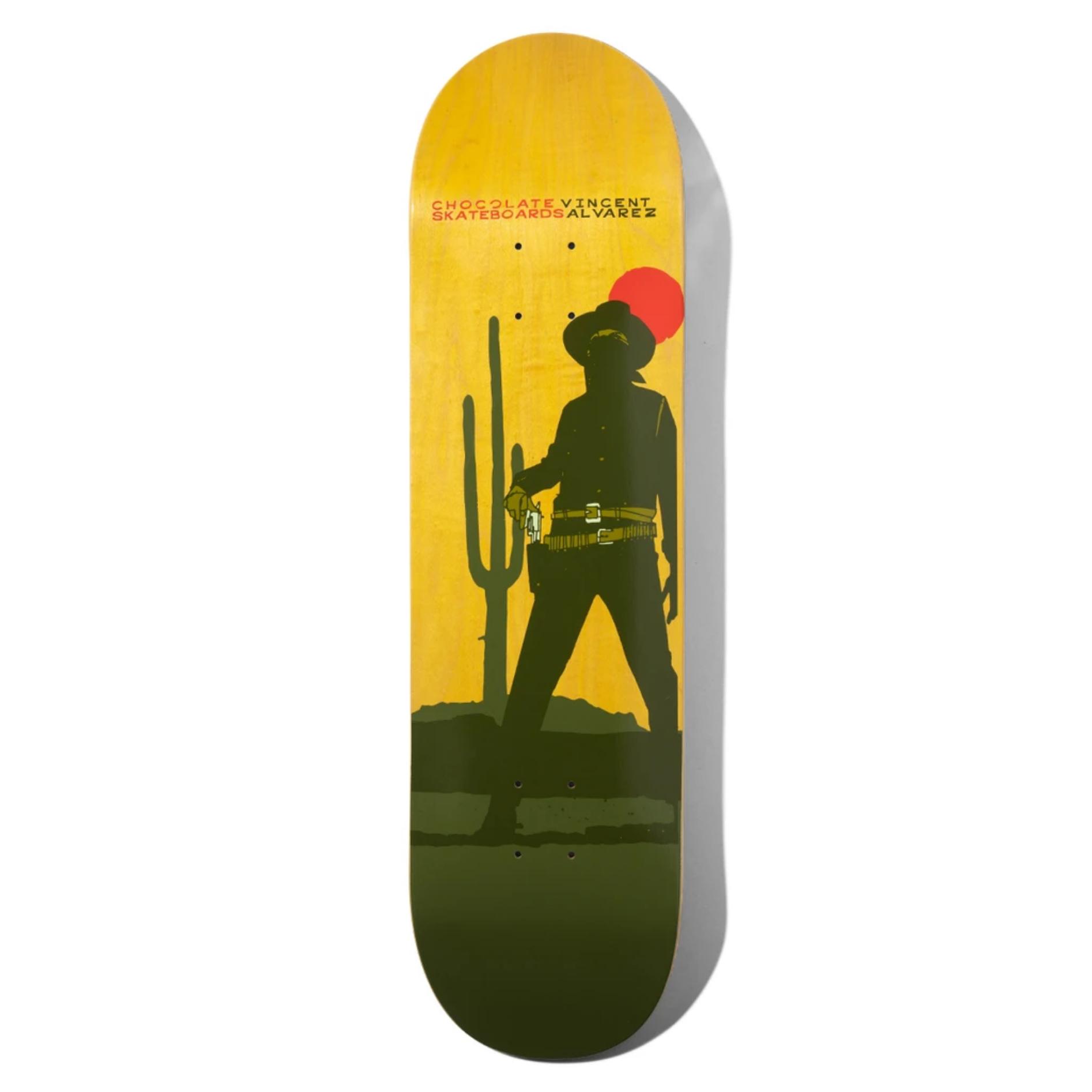 "Chocolate Skateboards Alvarez Hecox Cowboy 8.5"""